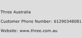 Three Australia Phone Number Customer Service