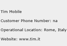 Tim Mobile Phone Number Customer Service