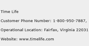 Time Life Phone Number Customer Service