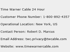 Time Warner Cable 24 Hour Phone Number Customer Service