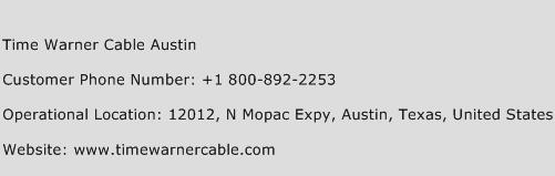 Time Warner Cable Austin Phone Number Customer Service