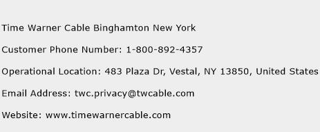 Time Warner Cable Binghamton New York Phone Number Customer Service