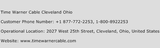 Time Warner Cable Cleveland Ohio Phone Number Customer Service