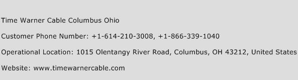 Time Warner Cable Columbus Ohio Number Time Warner Cable