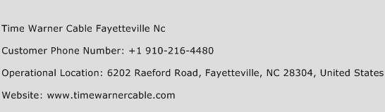 Time Warner Cable Fayetteville Nc Phone Number Customer Service