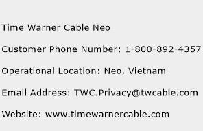 Time Warner Cable Neo Phone Number Customer Service