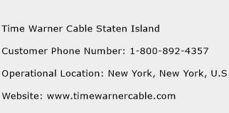 Time Warner Cable Staten Island Phone Number Customer Service
