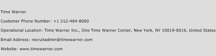 Time Warner Phone Number Customer Service
