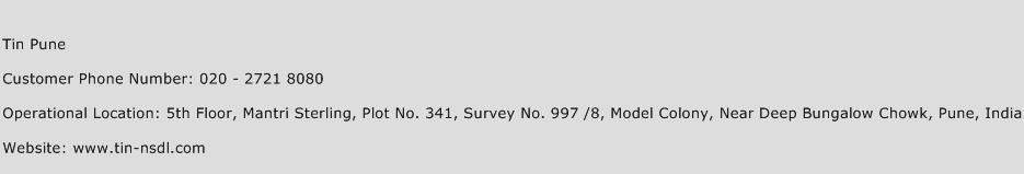Tin Pune Phone Number Customer Service