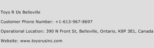 Toys R Us Belleville Phone Number Customer Service