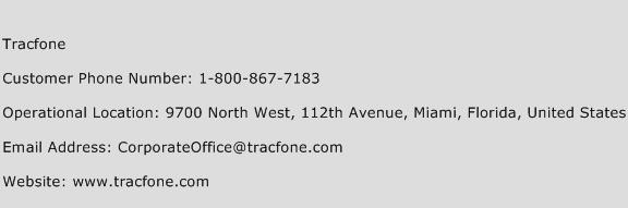 TracFone Phone Number Customer Service