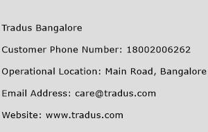 Tradus Bangalore Phone Number Customer Service