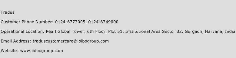 Tradus Phone Number Customer Service