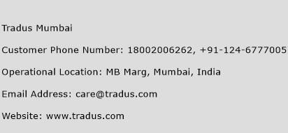 Tradus Mumbai Phone Number Customer Service