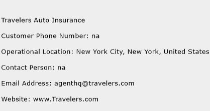 Travelers Auto Insurance Phone Number Customer Service