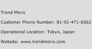 Trend Micro Phone Number Customer Service