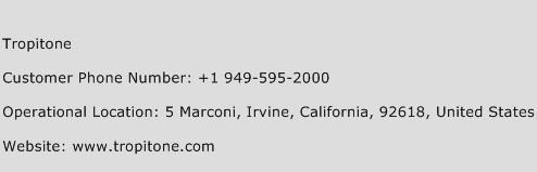 Tropitone Phone Number Customer Service