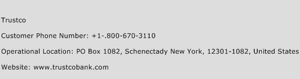 Trustco Phone Number Customer Service