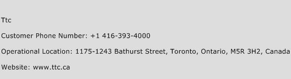 Ttc Phone Number Customer Service