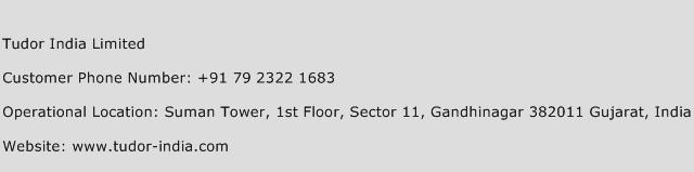 Tudor India Limited Phone Number Customer Service