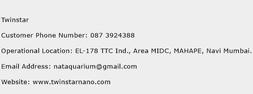 Twinstar Phone Number Customer Service