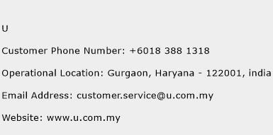U Phone Number Customer Service