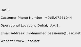 UASC Phone Number Customer Service