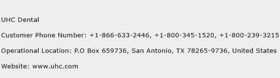 UHC Dental Phone Number Customer Service