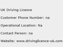 UK Driving Licence Phone Number Customer Service