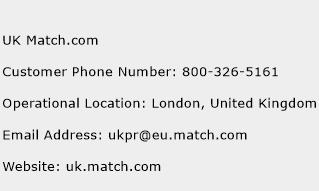 Customer Service Com Number Match Telephone