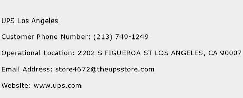 customer service number for ups