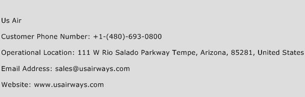 US Air Phone Number Customer Service