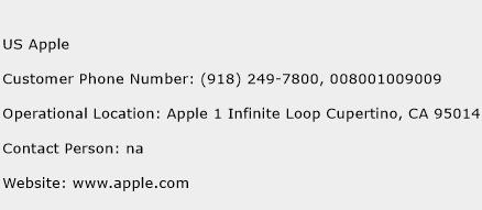 US Apple Phone Number Customer Service