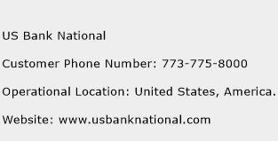 US Bank National Phone Number Customer Service