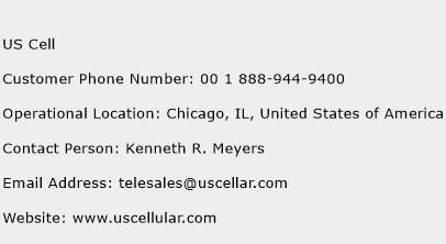 US Cell Phone Number Customer Service