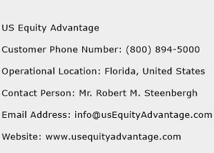 US Equity Advantage Phone Number Customer Service
