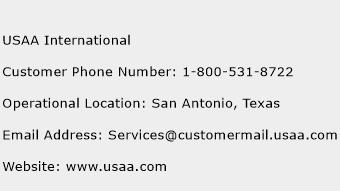 USAA International Phone Number Customer Service