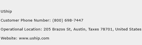 UShip Phone Number Customer Service