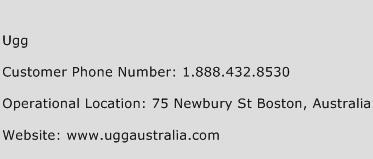 Ugg Phone Number Customer Service