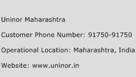 Uninor Maharashtra Phone Number Customer Service