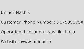 Uninor Nashik Phone Number Customer Service