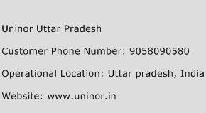 Uninor Uttar Pradesh Phone Number Customer Service