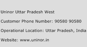Uninor Uttar Pradesh West Phone Number Customer Service