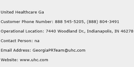 United Healthcare Ga Number | United Healthcare Ga ...
