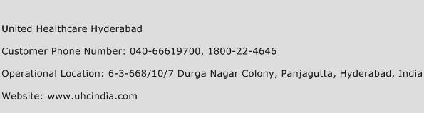 United Healthcare Hyderabad Phone Number Customer Service