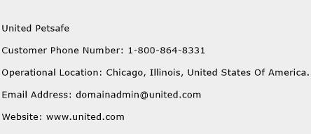 United Petsafe Phone Number Customer Service