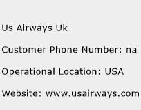 Us Airways Uk Phone Number Customer Service