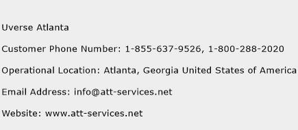 Uverse Atlanta Phone Number Customer Service