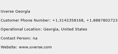 Uverse Georgia Customer Service Phone Number | (Toll Free) Contact ...