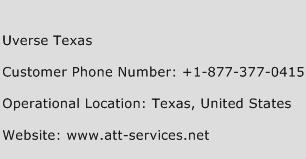 Uverse Texas Phone Number Customer Service